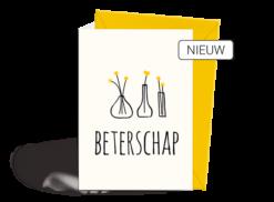 Wenskaart - Beterschap - Nieuw